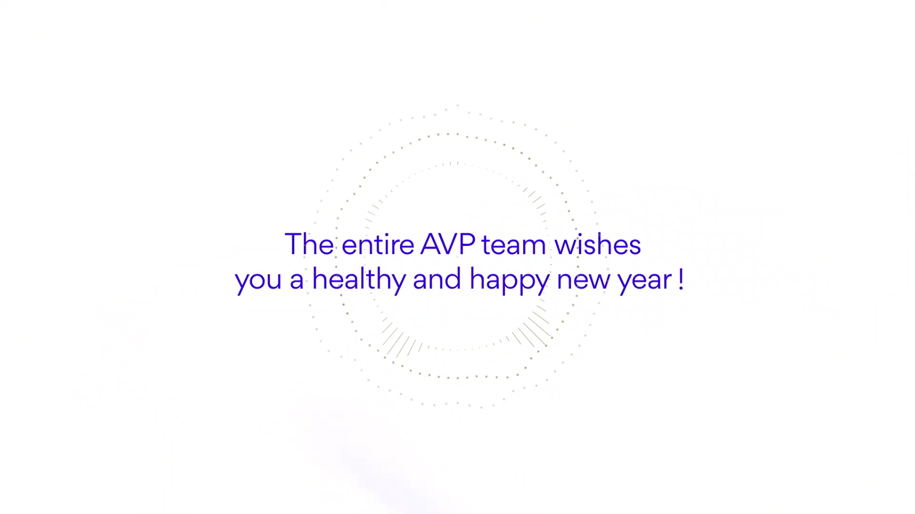 Best wishes from AVP team